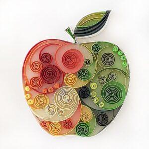Διακοσμητικό Δώρο Μήλο 2