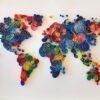 Διακοσμητικό Τοίχου, Παγκόσμιος Χάρτης